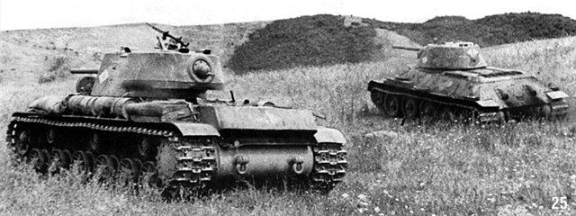 Танки 52 тбр идут в бой сентябрь 1942 г